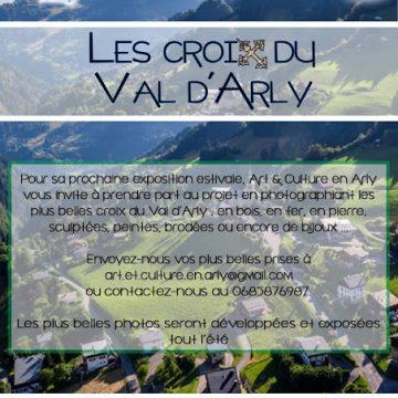 Exposition participative «Les croix du Val d'Arly»