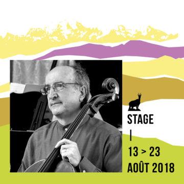Stage de violoncelle